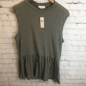 Anthropologie TLA Top Size Large NWT